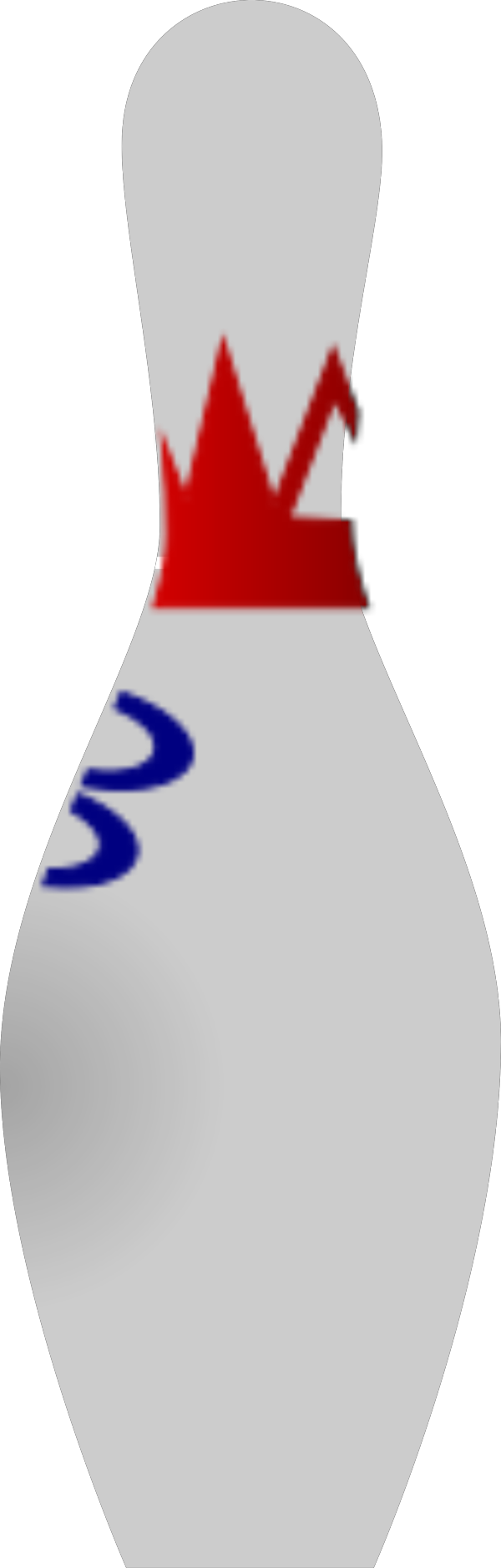 Blue Pin B PNG Clip art