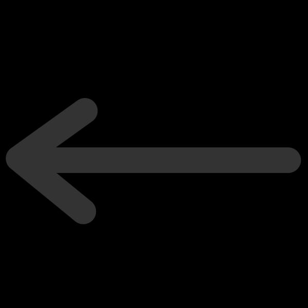 Left Arrow Blue PNG Clip art