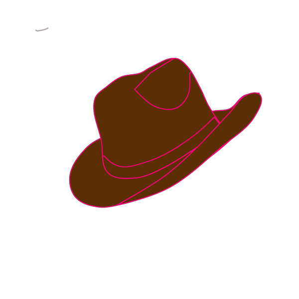 Red Cowgirl Hat And Boot PNG Clip art