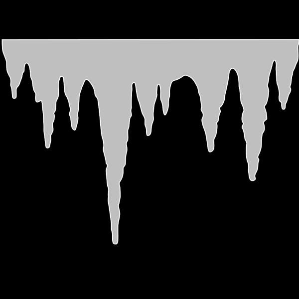 Icicle Blue PNG Clip art