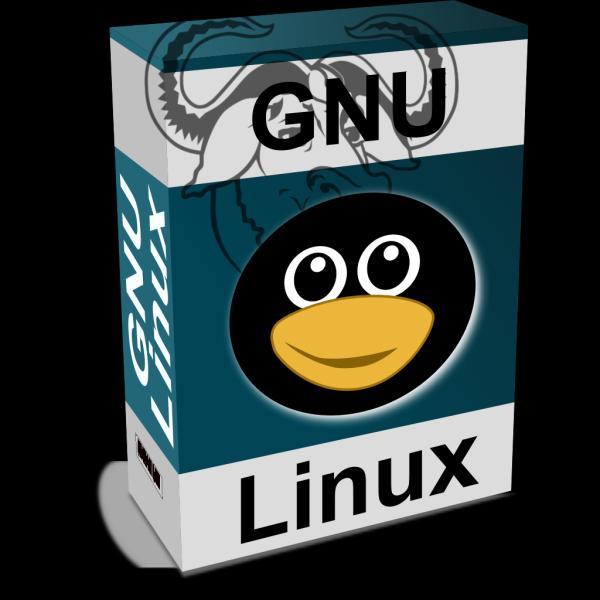 Gnu Linux Box PNG images