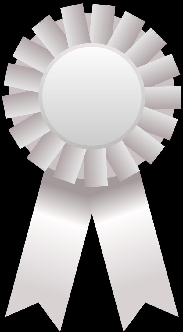 Prize Ribbon Light Blue PNG Clip art