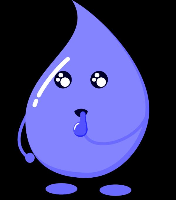Blue Drop PNG Clip art