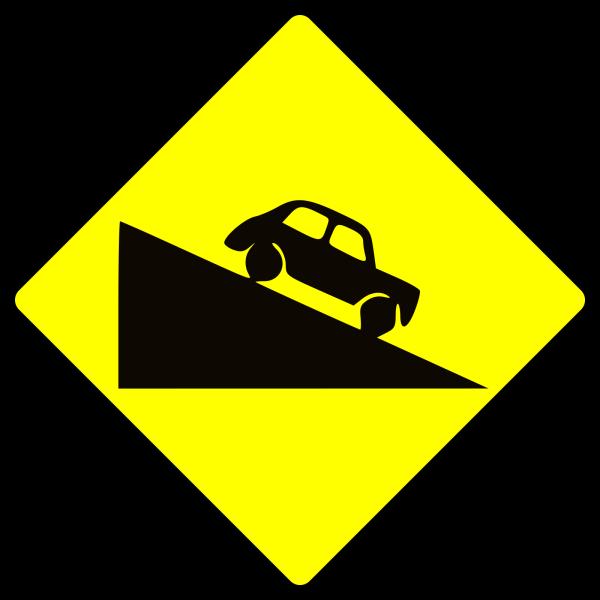 Caution Grey Blue PNG Clip art