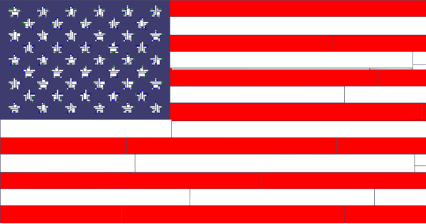 American Surveillance Flag PNG Clip art