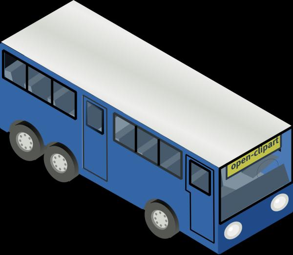 Bus Station Light Blue PNG Clip art