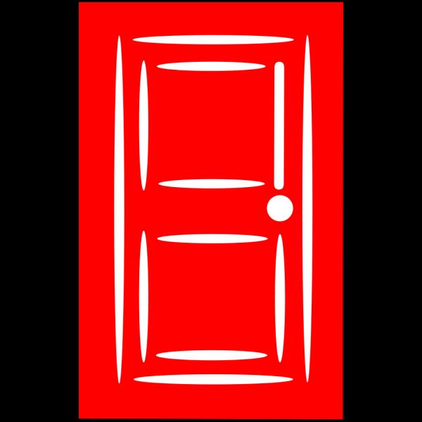 Abbie With Door New Red Door PNG images