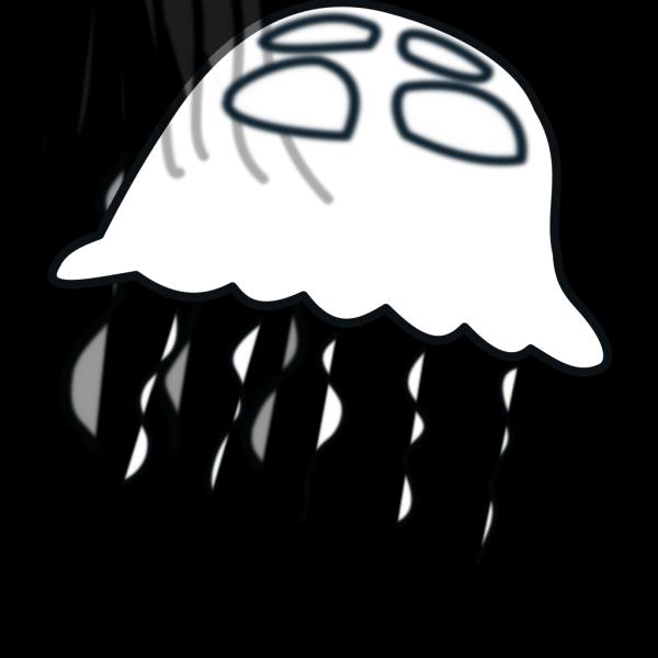Blue Jellyfish Q Rh PNG Clip art