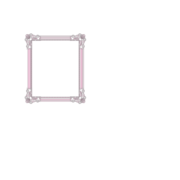 Frame Pink And Blue PNG Clip art