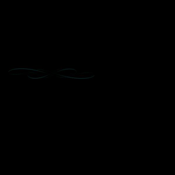Beautiful Swirls Underline PNG Clip art