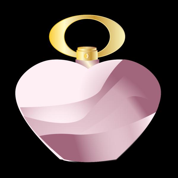 Parfume Bottle - Bluepurple PNG Clip art