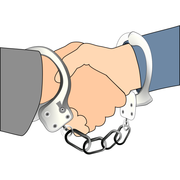 Blue Handcuffs Police PNG Clip art