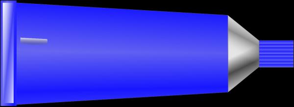 Blue Paint Splat PNG clipart