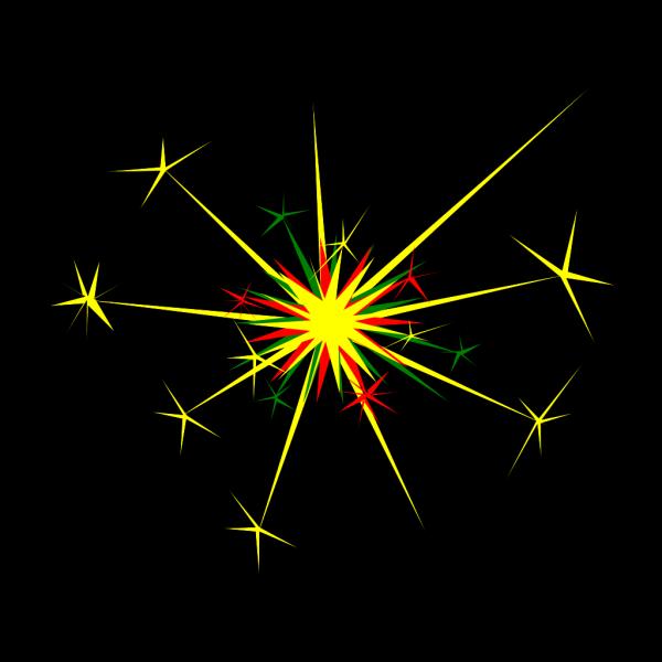 Blue Explosion Blank Pow PNG Clip art