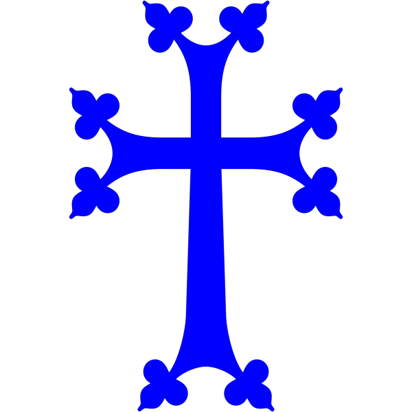 Light Blue Cross PNG icon