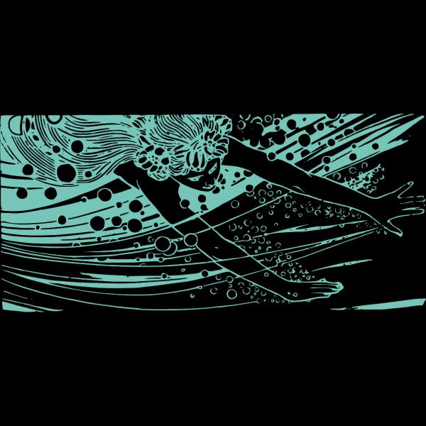 Blue Mermaid PNG images