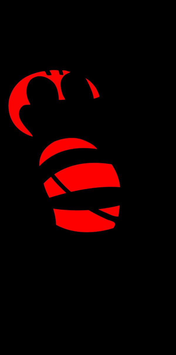 Blue Bee PNG Clip art