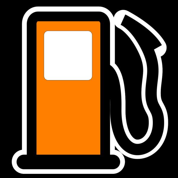 Gas Pump Clip Art - Red/white PNG Clip art
