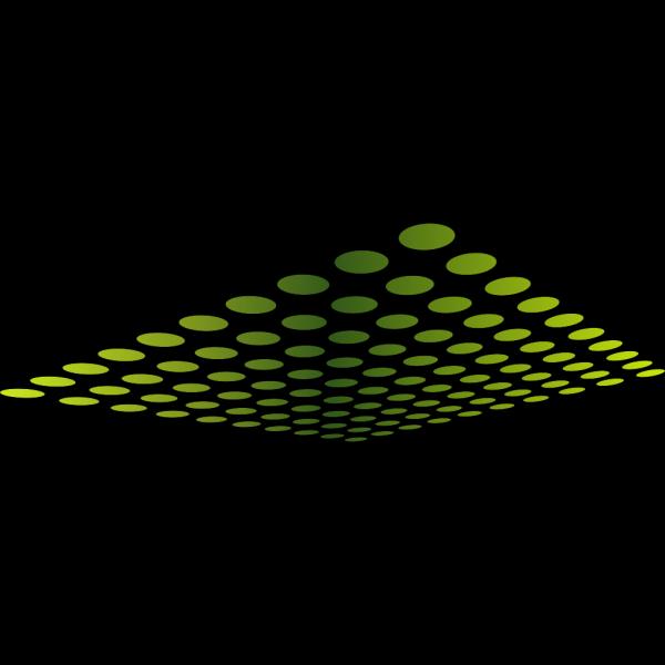 Dots Perspective Clip art