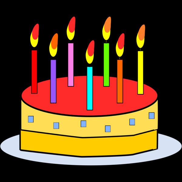 Blue Cake PNG Clip art