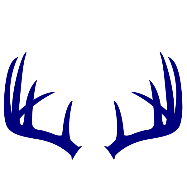 Blue Moose Cartoon PNG Clip art