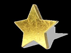 3D Gold Star PNG HD PNG Clip art