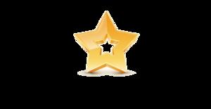 3D Gold Star PNG Transparent Image PNG Clip art