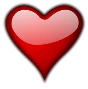 3D Red Heart PNG HD PNG Clip art