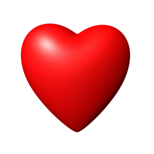 3D Red Heart PNG Image PNG Clip art