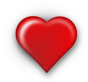 3D Red Heart PNG Photos PNG Clip art