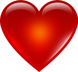 3D Red Heart Transparent PNG PNG Clip art