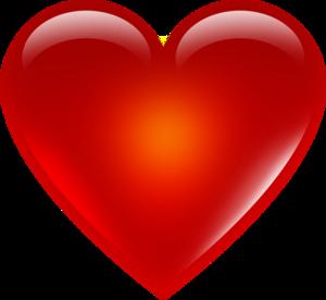 3D Red Heart Transparent PNG PNG Clip art