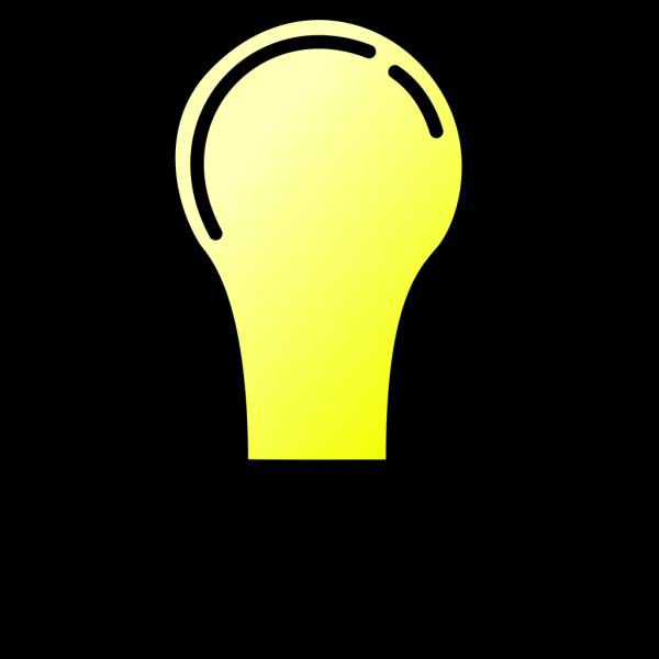 Light Bulb Blue Lito PNG Clip art