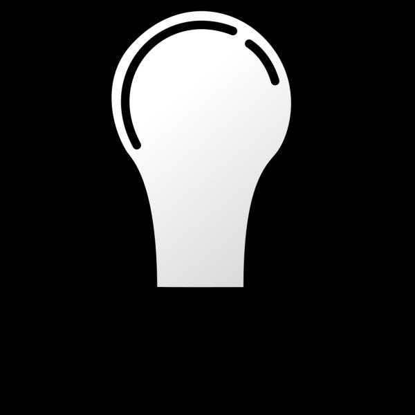 Light Bulb Blue  PNG Clip art