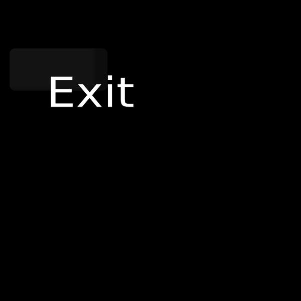Exit Button.png PNG Clip art