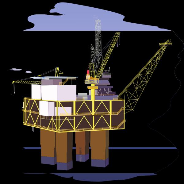 Oil Rig PNG Clip art