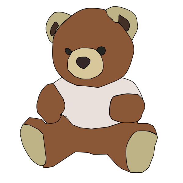 Stuffed Teddy Bear PNG icons