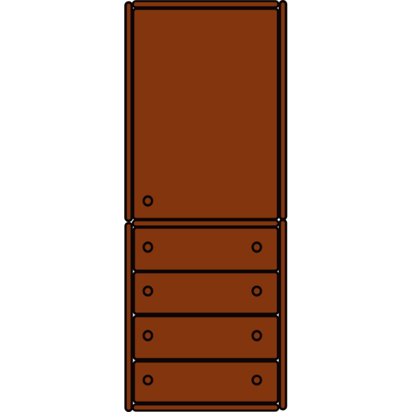 Chest Cabinet PNG Clip art