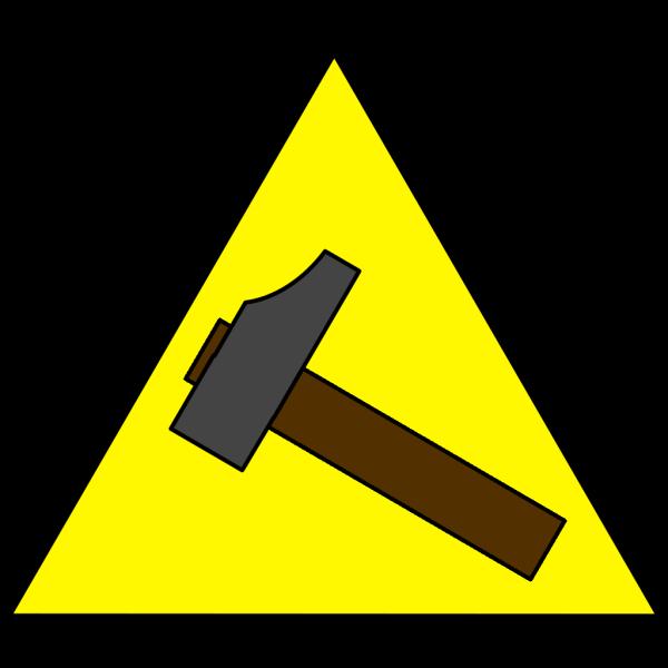 Hammer Sign PNG Clip art