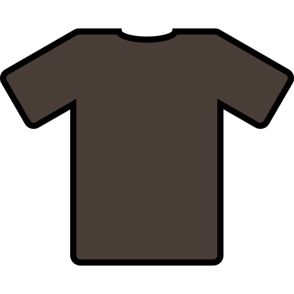 Brown T Shirt PNG Clip art