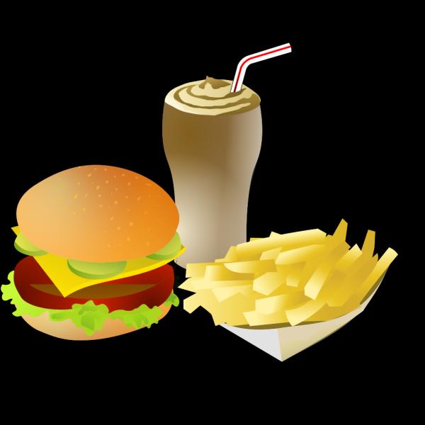Srd Fastfood Menue PNG Clip art