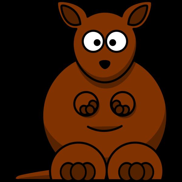 Cartoon Kangaroo PNG Clip art