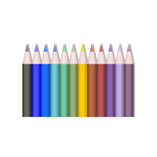 Colored Pencils PNG Clip art