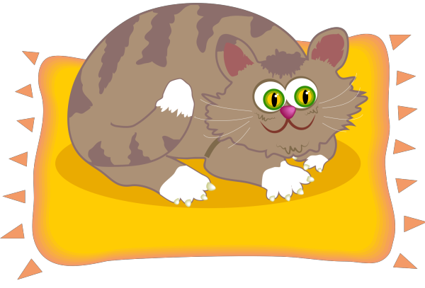 Cartoon Cat PNG image