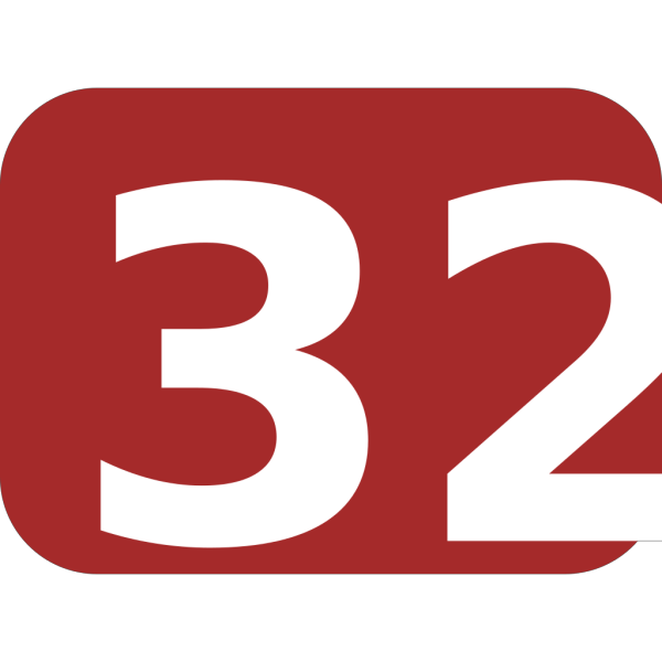 Brown Rounded Rectangle With Number 32 PNG Clip art