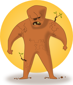 Kablam Super Hero Earth PNG Clip art