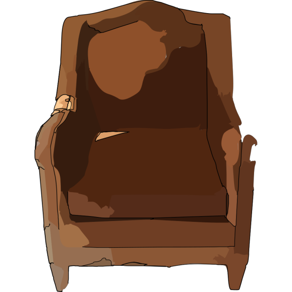 Leather Chair Furniture PNG Clip art