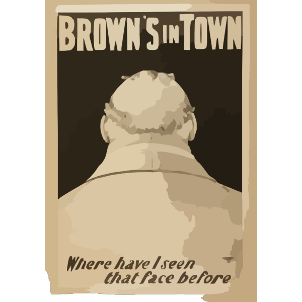 Brown S In Town PNG Clip art
