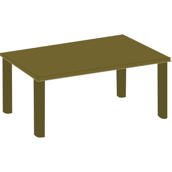 Wood Table PNG Clip art