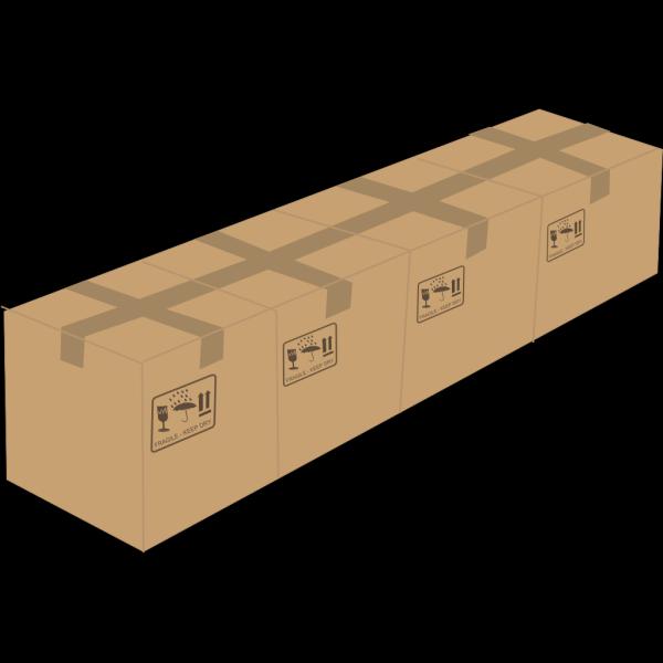 Four Boxes PNG Clip art